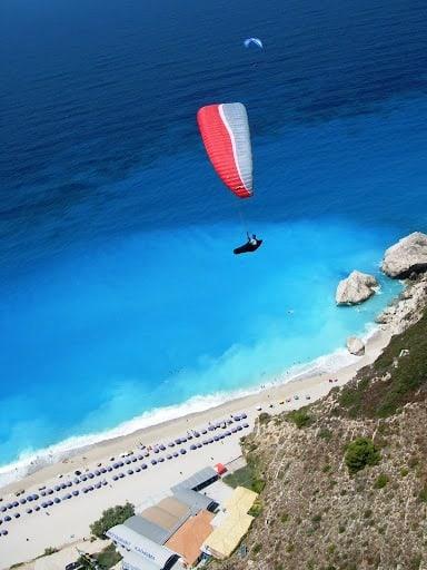 Lefkada Kathisma paragliding