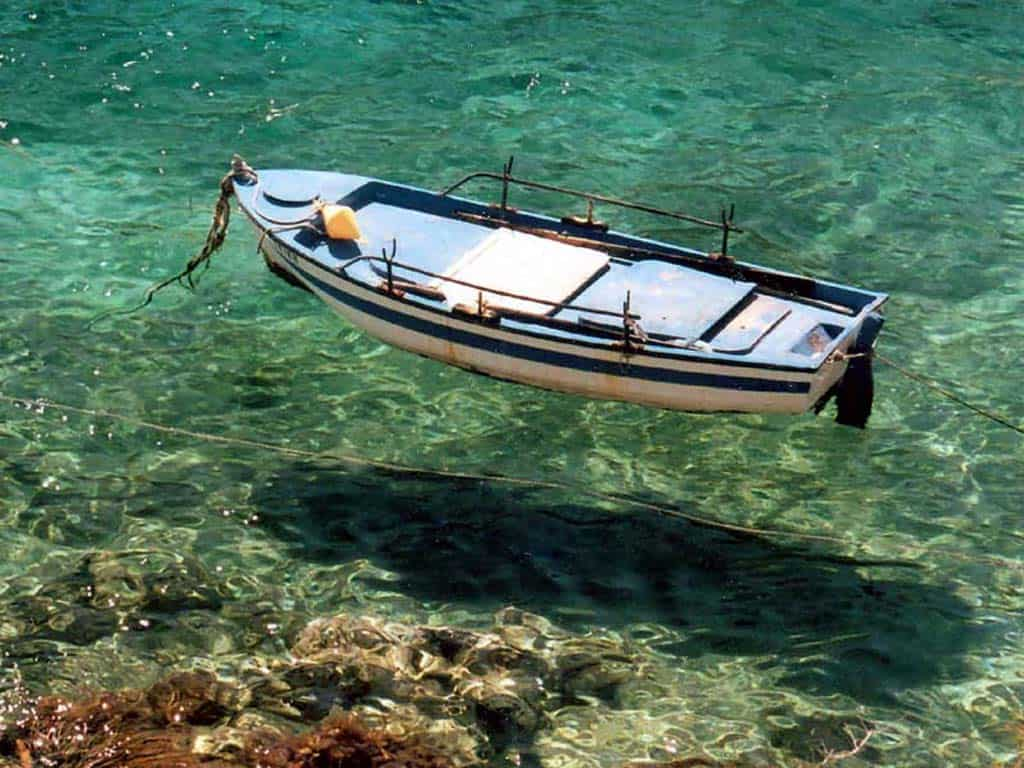 Lefkada boat