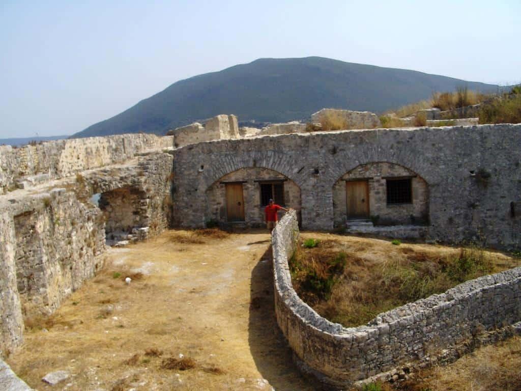 Lefkada castle