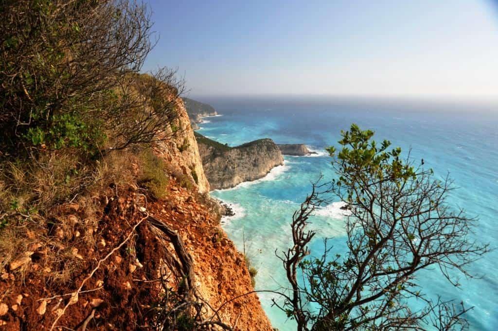 Lefkada coast