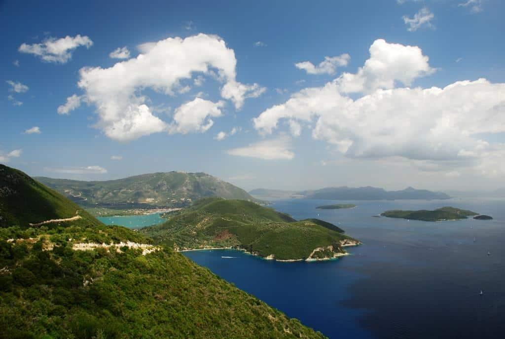 Lefkada east coast