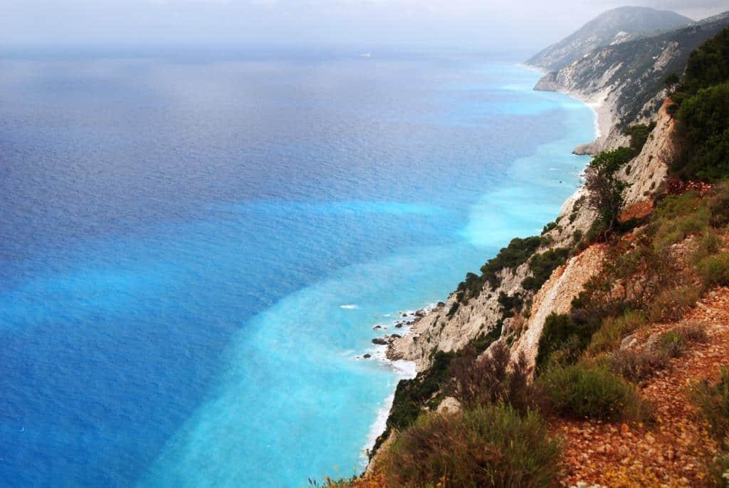 Lefkada west coast