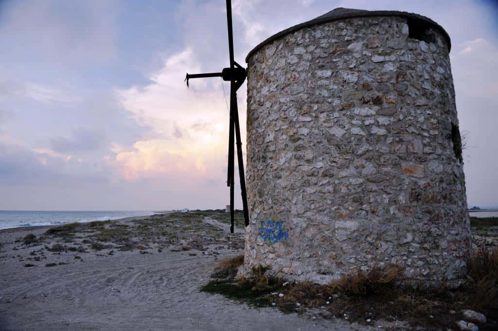 Lefkada windmill