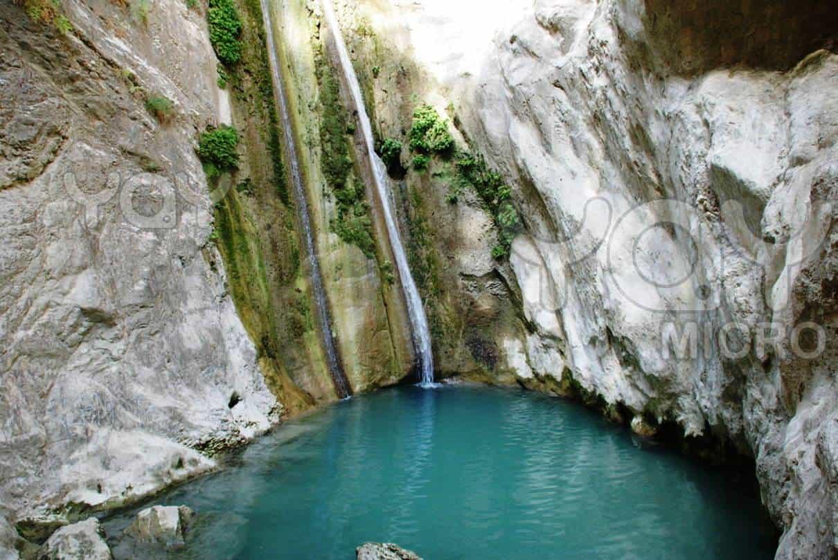 Nidri lefkada waterfalls