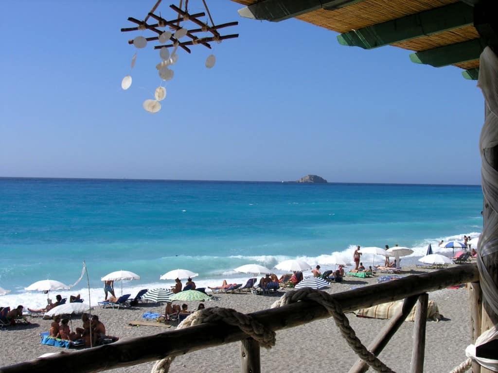 Pefkulia-beach