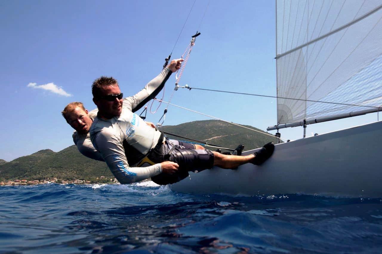 Vasiliki sailing
